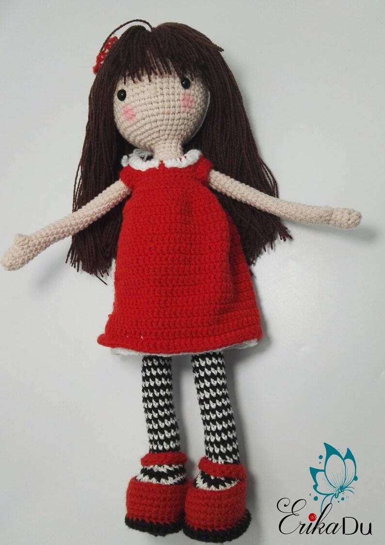 Amigurumi Doll Pattern Crochet Doll Pattern Photo Tutorial Instant ...   1123x794