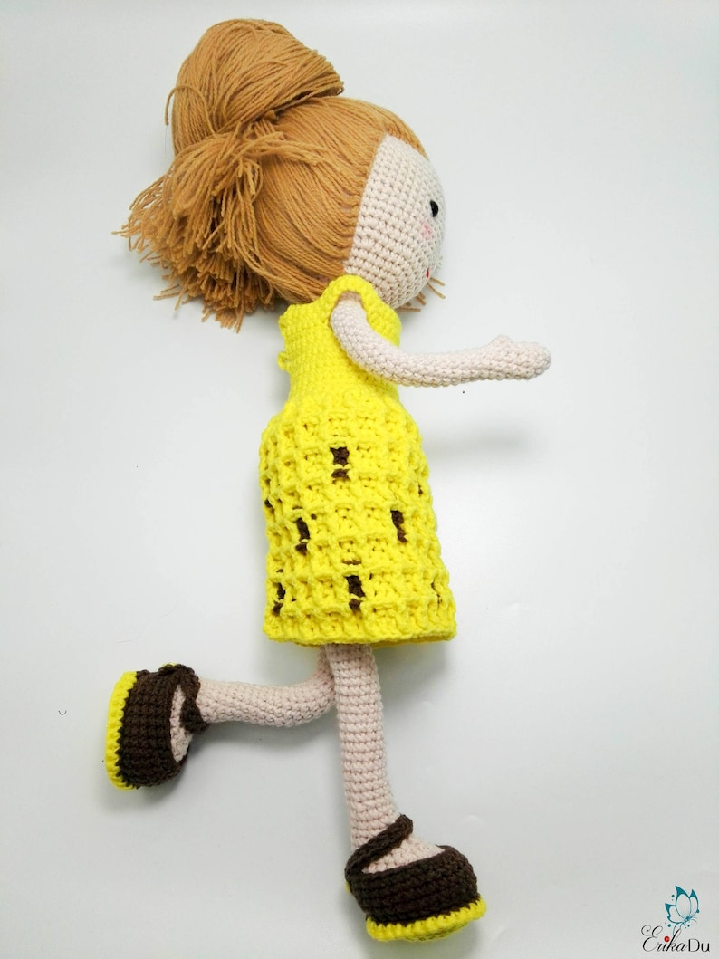 Crochet doll PATTERN | amigurumi pattern | frame doll | crochet ... | 1059x794