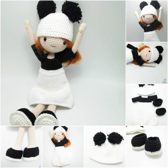 Crochet Pattern Bundle: Amigurumi Doll, Crochet Doll Pattern ...   570x570
