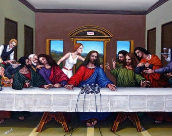 THE LAST SUPPER - Press Conference