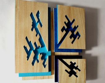 BLUE LAYERS III