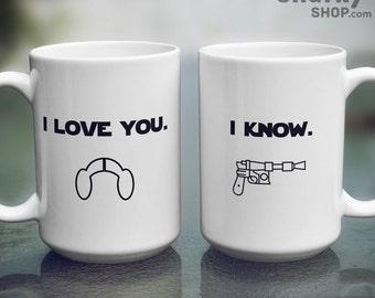 Star Wars I Love You, I Know Mug, 15oz Mug