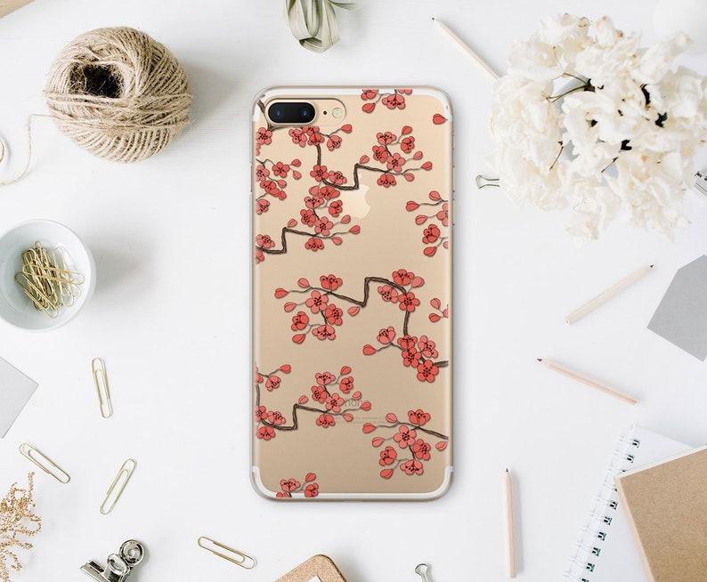uk availability 71ce0 c9e7c Cherry Blossom iPhone XR Case Phone 7 Plus Case XS Max Case iPhone 8 iPhone  6 Cover iPhone 6s Case Phone 6s Plus 8 Plus Flower Case WA1119