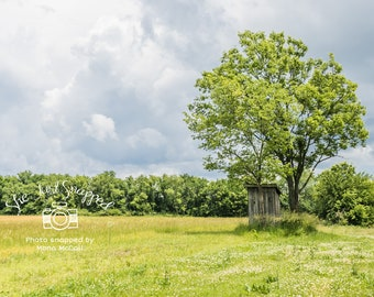Country Outhouse II