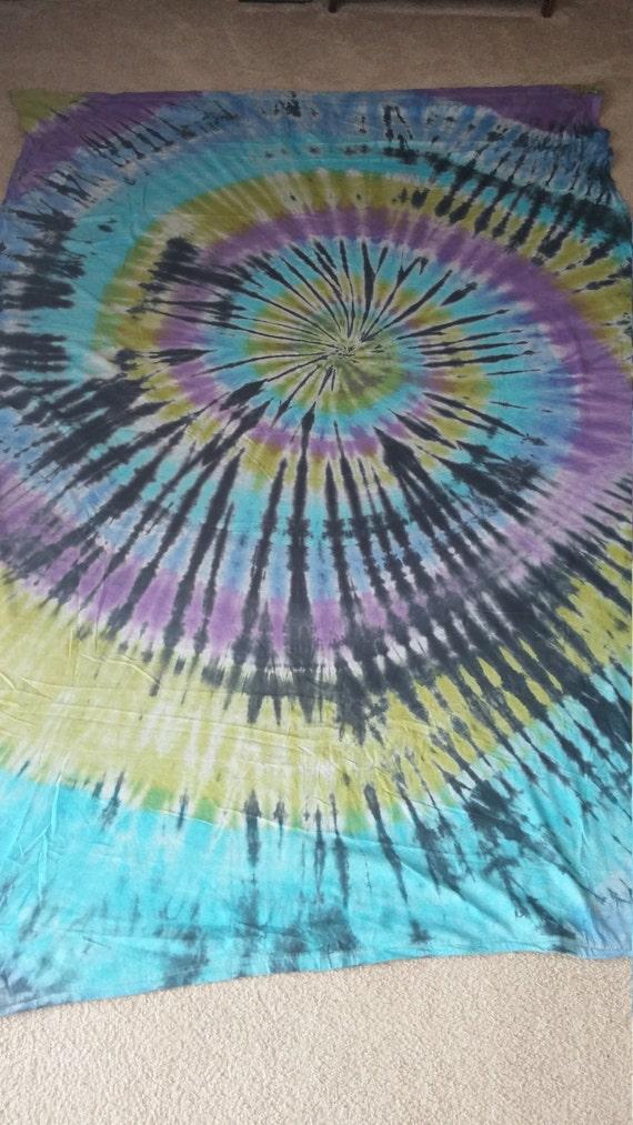 6a065163a24b46 Tie dye bed sheets