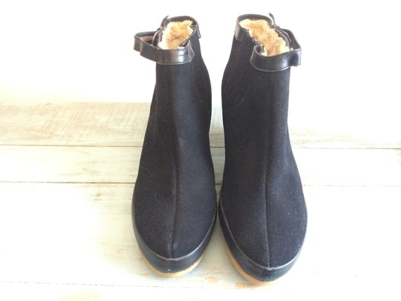 shoes boot boots stuffed 1940-1950 vintage deadsto