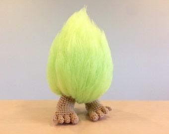 Fuzzy Troll Crochet Pattern