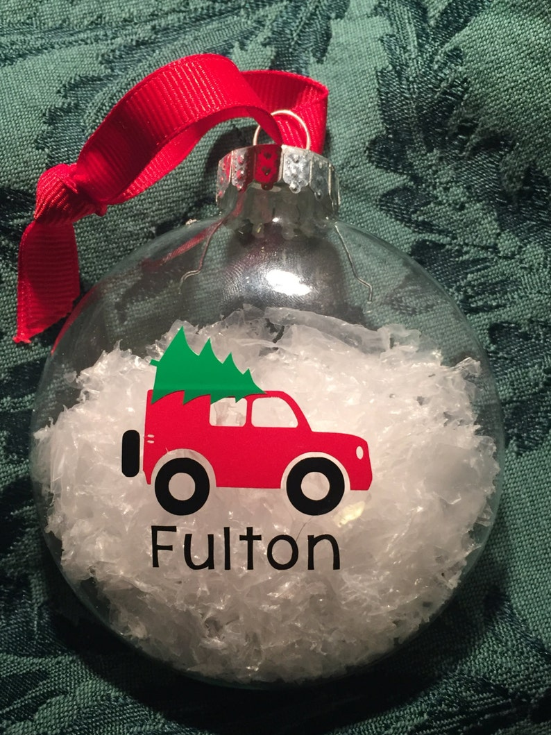 Jeep Christmas Ornament.Personalized Jeep Christmas Ornament With Name Christmas Tree Decoration Custom