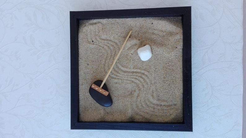 De Magische Tuin : Mini zen garden magische tuin zen tuin hark meditatie tuin etsy