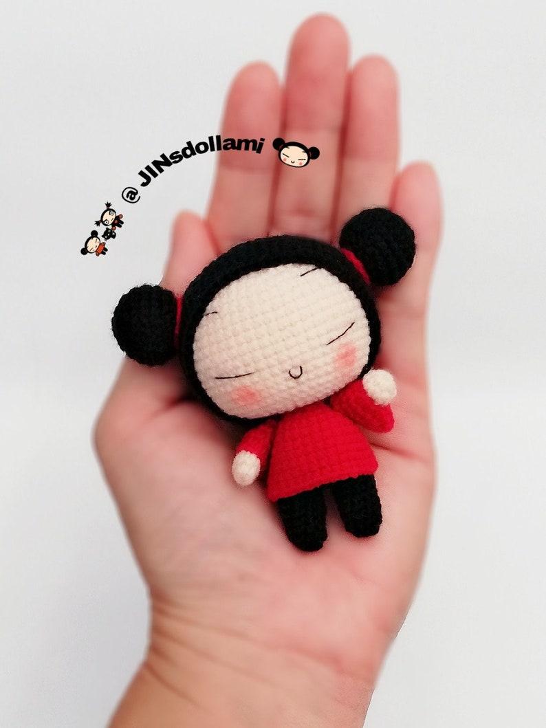 Chinese Doll Pucca x Garu Crochet Doll Pattern  Amigurumi Doll Pattern  PDF Crochet Doll Pattern  Instant Download