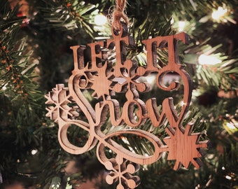 10Pcs Merry Christmas Letter Laser Cut Wood Slice Xmas Trees Party Ornament zh