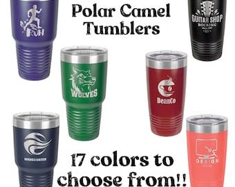 Custom Engraved Polar Camel Tumblers