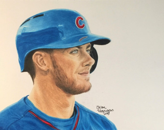Featured listing image: Baseball's Blue Eyes PRINTS