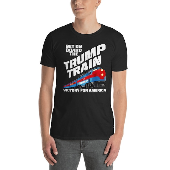 Trump Shirt Funny Trump Train Get On Board Pro Trump Gifts For Etsy