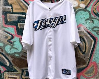 VTG Toronto Blue Jays Authentic Majestic Baseball Jersey