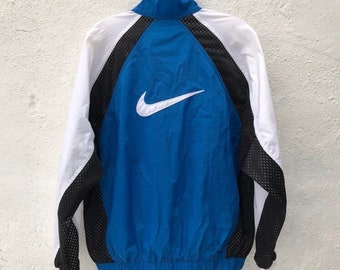 f6f9121f2c VTG Nike Windbreaker White Tag Vintage 1990s
