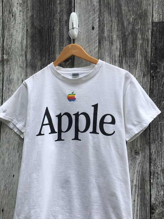 80's Apple T Shirt Macintosh Computers Vintage 198
