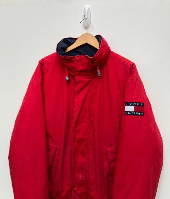 90's Tommy Hilfiger Puffer Jacket Vintage 1990's