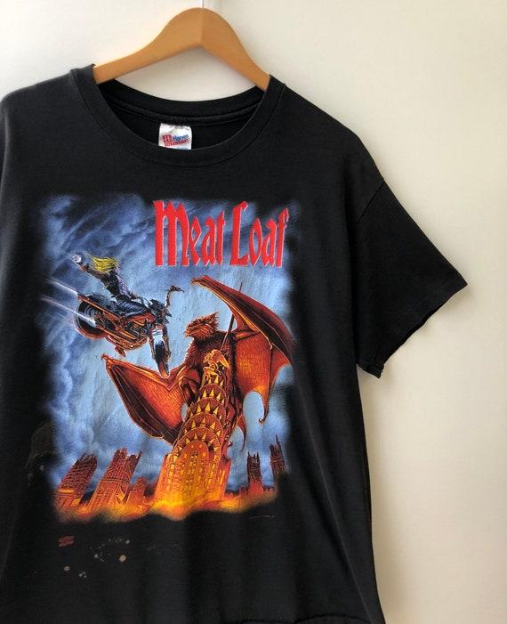90's Meatloaf Everything Louder Tour T Shirt Vinta