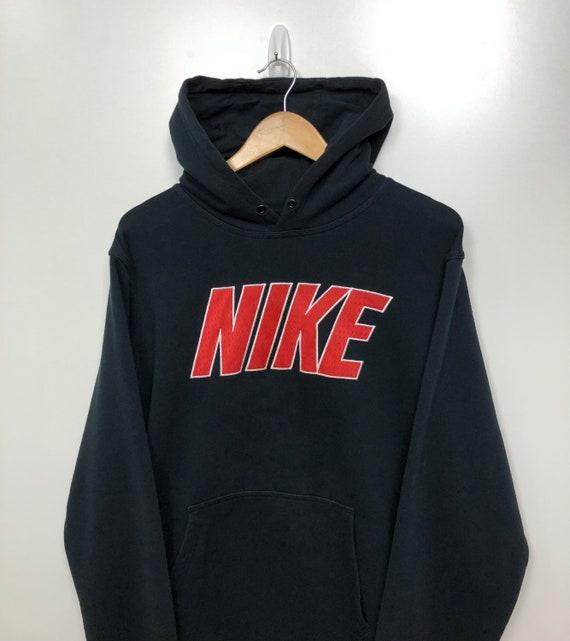 Vintage Nike Spell Out Hoodie 2000's