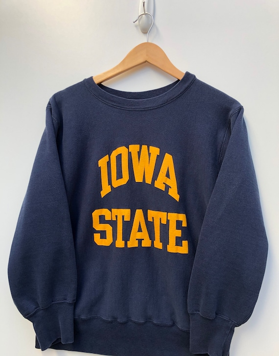 80's Champion Reverse Weave Iowa State Sweater Vin