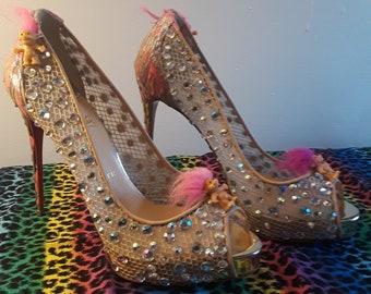 594097bc7cb Christian louboutin shoes   Etsy