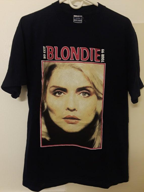 Vintage 1999 Blondie No Exit European Concert Tour