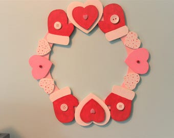 Cold Hands Warm Heart Wreath