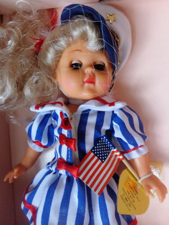 Vogue 2003 Ginny Doll Patriotic Fourth Of July Patriotic Outfit,No doll!