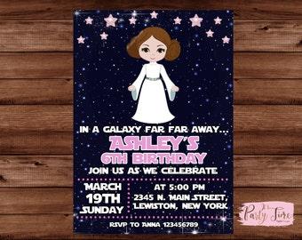Princess Leia Invite