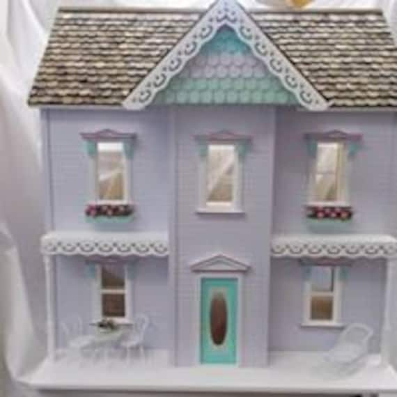 Emily Dollhouse Doll House Made In The Usa 3 8 Birch Etsy