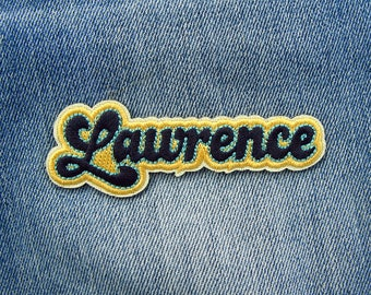 Lawrence Sticker Embroidered Patch