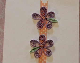 Quilled Flower Cards