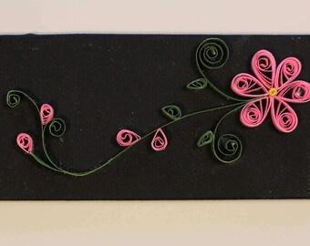 Pink Quilled Flower