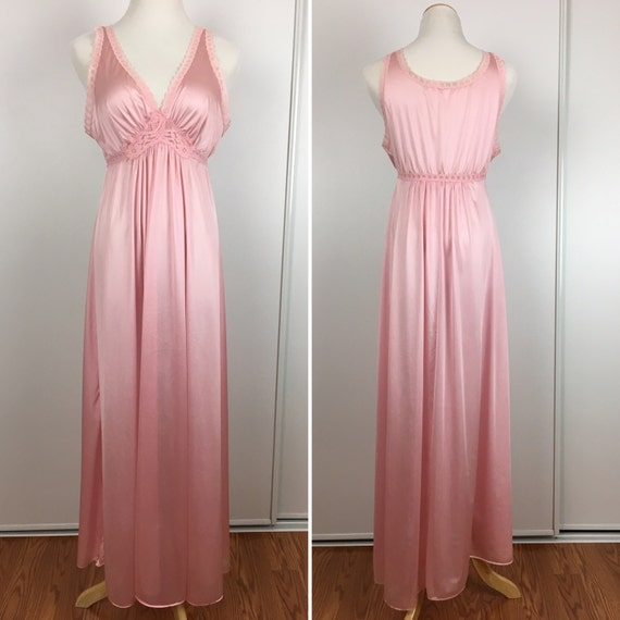 Vintage Miss Elaine Rose Nightgown & Robe Size M \'70s   Etsy