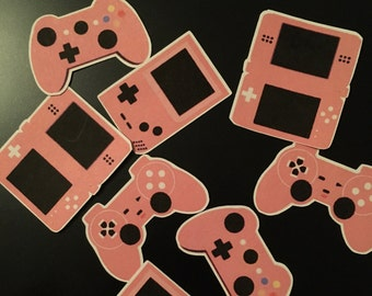 Video game controller console stickers