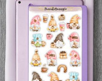 Coffee gnome stickers