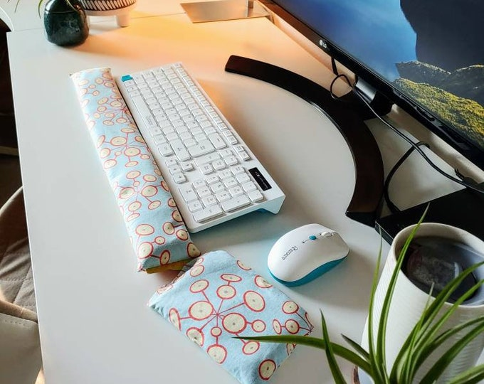 Atomic Design cool comfy Keyboard and mouse computer wrist rest support