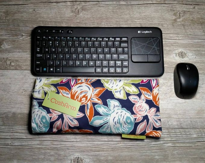 Spring Sherbert Floral Laptop Computer Arm, Wrist, Elbow Support