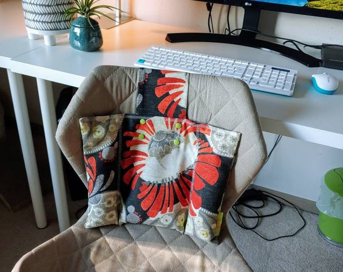 Mod Supportive  Back Rest Heat or Freeze- CushArm