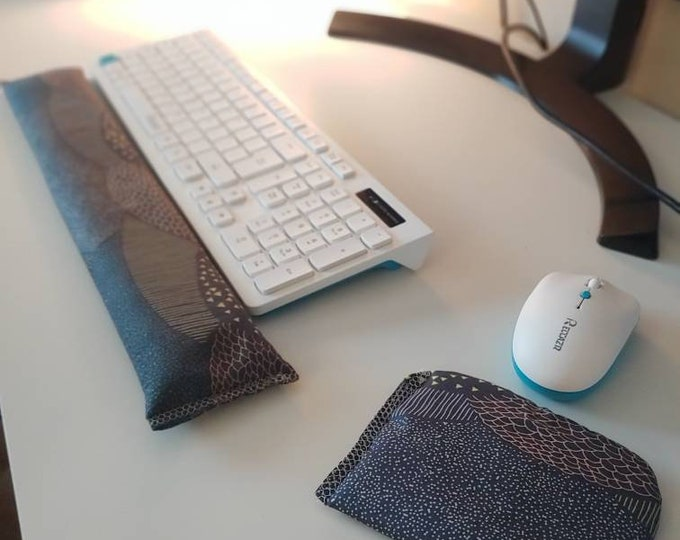 Modern Design Keyboard and mouse computer wrist rest support- All Natural