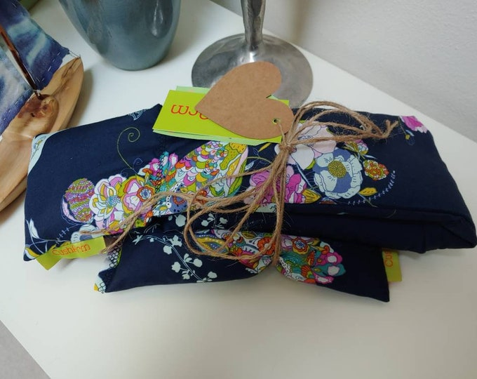 Floral Peacock Spa Relaxation Gift Set