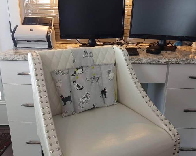 Cute Kitty Back Rest Heat or Freeze- CushArm