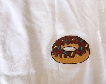 Chocolate donut shirt