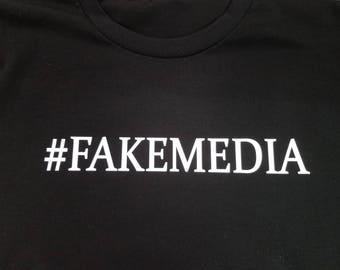 Fake Media Tee Shirt