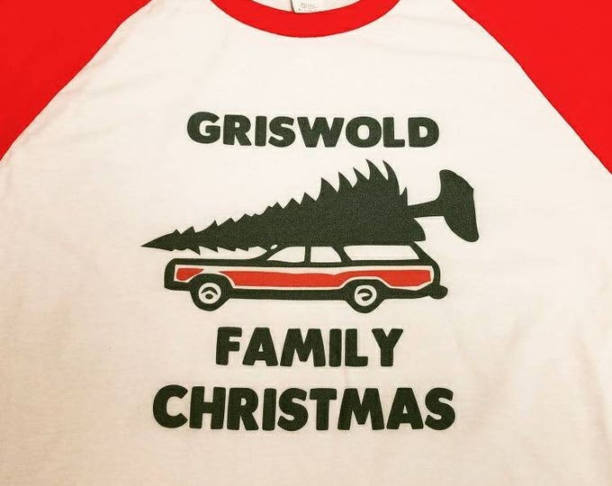 Youth Griswold Christmas Vacation 3/4 Sleeve Tee Shirt