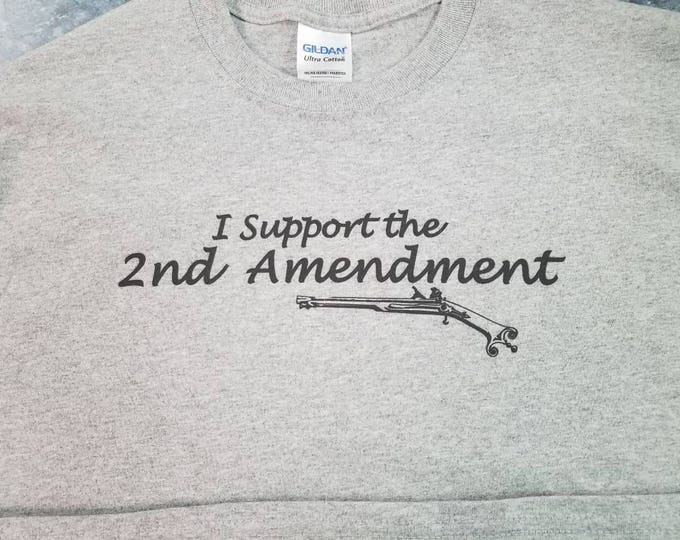 I support the 2nd Amendment tee