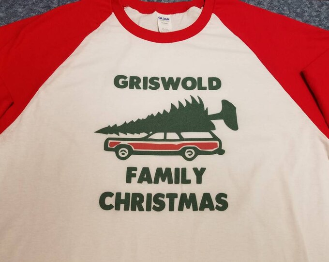 Griswold Family Christmas 3/4 sleeve Tee shirt