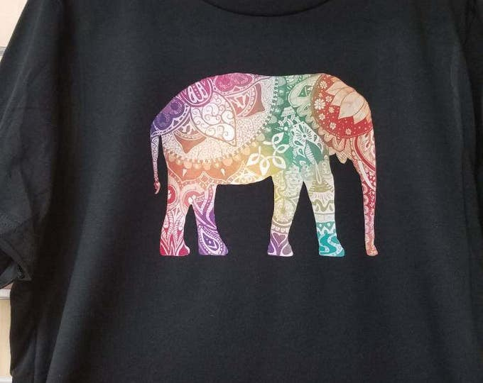 Tribal elephant Tee shirt
