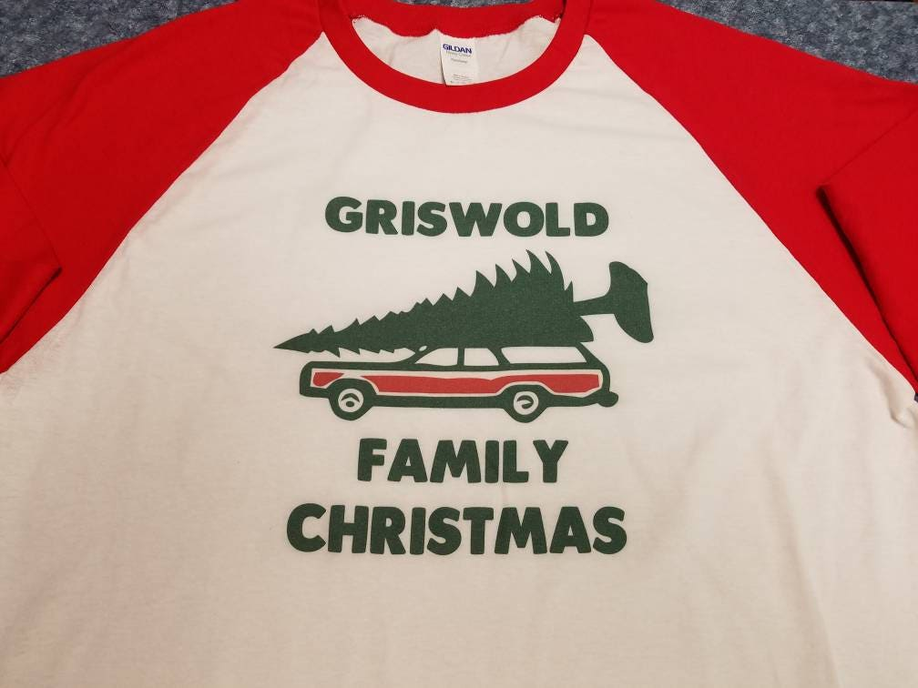 griswold family christmas 34 sleeve tee shirt